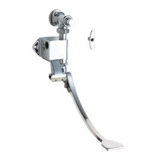 Chicago Faucets Wall Mount Single Pedal Valve in Chrome
