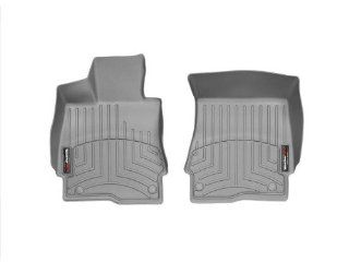 WeatherTech Custom Fit Front FloorLiner for Mercedes Benz S Class (W221), Gray Automotive