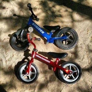 Chicco Red Bullet Balance Training Bike Toys & Games