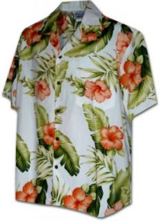 Hibiscus Paradise Hawaiian Shirts   Mens Hawaiian Shirts   Aloha Shirt at  Men's Clothing store Button Down Shirts