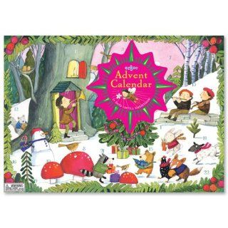 Christmas in the Woods Advent Calendar Toys & Games