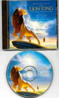 Lion King Soundtrack (Original Disney 1994 Rare PICTURE DISC CD Containing 12 Tracks Featuring Elton John, Hans Zimmer, Carmen Twillie, Jeremy Irons, Cheech Marin, Jim Cummings, Whoopi Goldberg, Rick Astley) Music