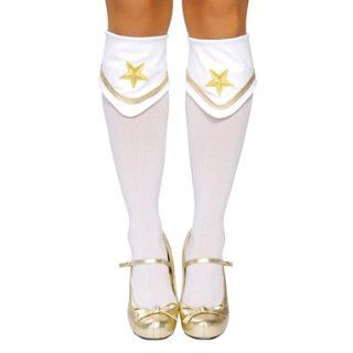 Sexy Gold Star Sequin Boot Covers for Costume Clothing