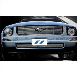 SES Trims Chrome Billet Lower Grille 05 08 Ford Mustang Automotive