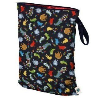Planet Wise Wet Cloth Diaper Bag (small, monster bash) New Born, Baby, Child, Kid, Infant  Infant And Toddler Apparel Accessories  Baby