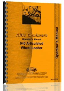 Allis Chalmers 940 Wheel Loader Operators Manual