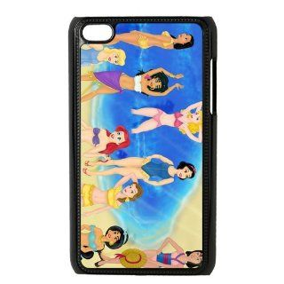 Unique Art Cute Princess Beauty Cartoon Series Customized Special DIY Hard Best Case Cover for iPod Touch 4 Cell Phones & Accessories