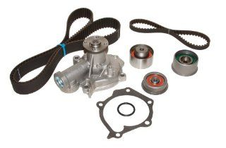 Evergreen TBK313WPT Hyundai Kia G4JS Timing Belt Kit w/ Water Pump Automotive