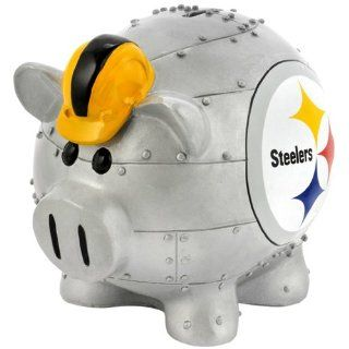 BSS   Pittsburgh Steelers NFL Team Thematic Piggy Bank (Large)
