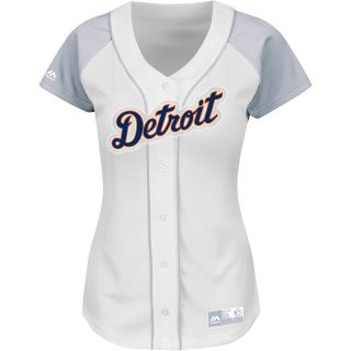MAJESTIC ATHLETIC Womens Detroit Tigers Fashion Replica Home Jersey   Size