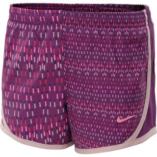 NIKE Girls Tempo Graphic Running Shorts   Size XS/Extra Small, Grape