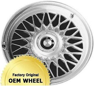 BMW 740,750,7 SERIES 16X8 WEBBED DESIGN Factory Oem Wheel Rim  SILVER   Remanufactured Automotive