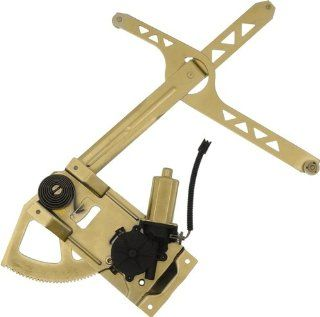 Dorman 741 896 Front Driver Side Replacement Power Window Regulator with Motor for Chevrolet Astro/GMC Safari Automotive