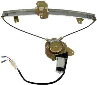 Dorman 741 342 Eagle/Mitsubishi/Plymouth Front Driver Side Window Regulator with Motor Automotive