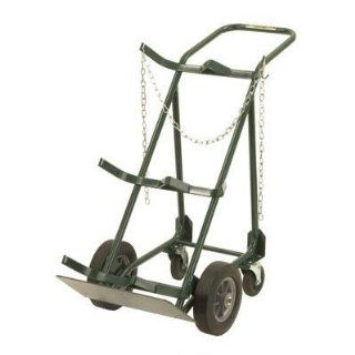 Harper Trucks 764 39 48 Inch High by 20 Inch Wide Utility Hand Truck with Stationary Rear Assembly with 10 Inch Solid Rubber Wheels