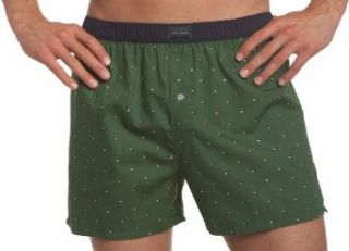 Tommy Hilfiger Men's Micro Print Flag Boxer, Tempest Green, Large at  Men�s Clothing store
