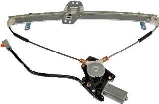 Dorman 748 130 Honda Pilot Front Passenger Side Power Window Regulator with Motor Automotive