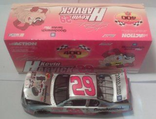 2001 NASCAR Action Racing Collectables . . . Kevin Harvick #29 GM Goodwrench Service Plus / Looney Tunes Taz Chevy Monte Carlo 1/24 Diecast . . . Limited Edition 1 of 92,748 Toys & Games
