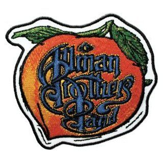 The Allman Brothers Peach & Name Logo Rock Roll Music Band Embroidered Iron On Patch Clothing
