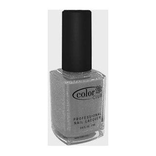 Color Club Nail Polish Silver Glitter CC 781 glitter  Beauty