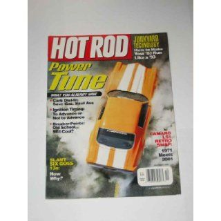 Hot Rod Magazine December 2000 Power Tune Petersen Publishing Company Books