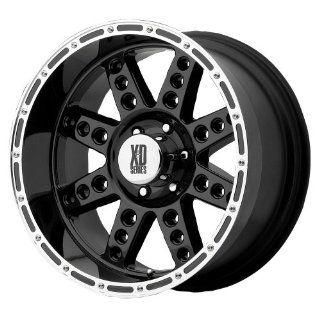 "KMC Wheels XD Series Diesel XD766 Gloss Black Machined Wheel (20x10""/6x5.5"") Automotive"