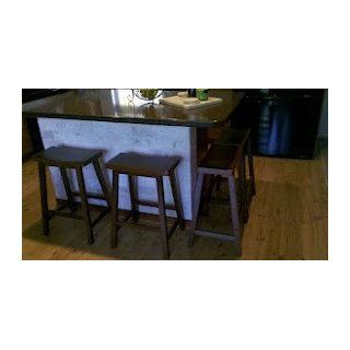 "Winsome Wood 24"" Saddle Seat Stool, Nat.   Bar Stools"