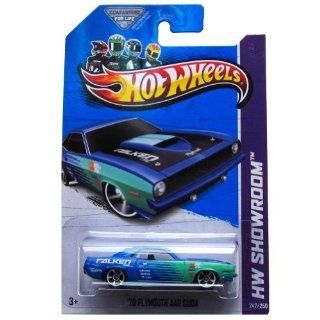 Hot Wheels Showroom '70 Plymouth Aar Cuda Blue/green 247/250 Toys & Games