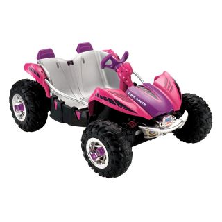 Fisher Price Power Wheels ATV Dune Racer Battery Powered Riding Toy   Pink   Battery Powered Riding Toys