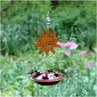 Avant Garden Sun Catcher Hummingbird Feeder   Bird Feeders