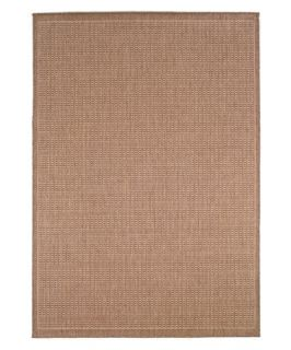 Couristan Recife Saddle Stitch Indoor/Outdoor Area Rug   Cocoa/Natural   Area Rugs