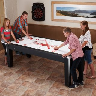 Fat Cat 7 ft. Super Slickshot Air Hockey Table   Air Hockey Tables