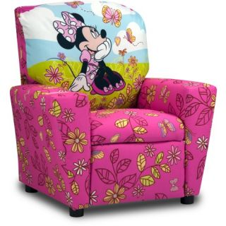 Disney Minnie Mouse Cuddly Cuties Kids Recliner   Kids Recliners