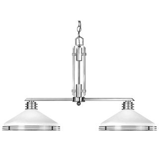 Matrix 38 Inch Island Light   Brushed Nickel   Ceiling Lighting