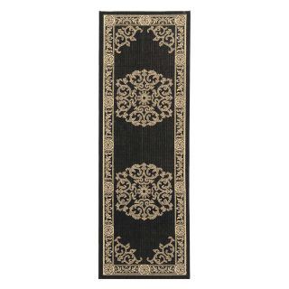 Safavieh Courtyard CY2914 Area Rug Black/Sand   Area Rugs