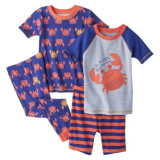 Just One You Made by Carters Infant Toddler Boys 4 Piece Short Sleeve Crab