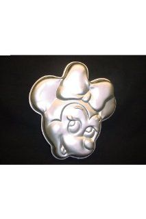 Minnie Mouse Face Walt Disney Wilton Cake Pan #515 809 Novelty Cake Pans Kitchen & Dining