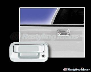 2008, 2009, 2010, 2011, 2012, 2013 FORD F250 / F350 (Superduty) Chrome Tailgate Handle Cover (2 Pcs) Automotive