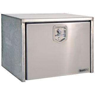 Buyers Stainless Steel Underbody Tool Box   Truck Tool Boxes