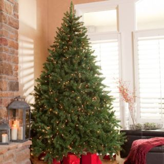 Classic Pine Full Pre lit Christmas Tree   Christmas Trees