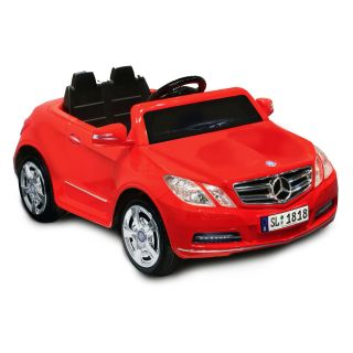 Kid Motorz Mercedes Benz E550 Battery Powered Riding Toy   Red   Battery Powered Riding Toys