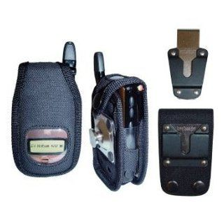ArmorCase Ballistic Nylon Series Heavy Duty Black Nylon Case For i830 Nextel, iDen, Boost Cell Phones Heavy Duty Belt Clip & 3 Inch Loop Included Cell Phones & Accessories