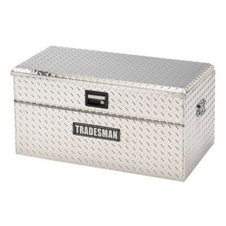 Tradesman Small Size 36 in. Single Lid Wider Design Flush Mount Truck Tool Box   Truck Tool Boxes