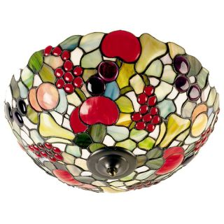 Dale Tiffany Fruit Flush Mount Light   Tiffany Ceiling Lighting