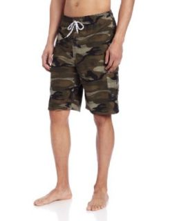 U.S. Polo Assn. Men's Grid Camo Hybrid Short, Forest Night, X Large at  Men�s Clothing store Fashion Swim Trunks