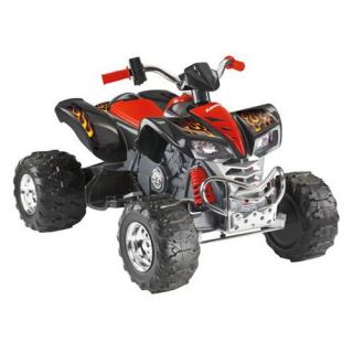 Fisher Price Power Wheels Kawasaki ATV Battery Powered Riding Toy   Black   Battery Powered Riding Toys