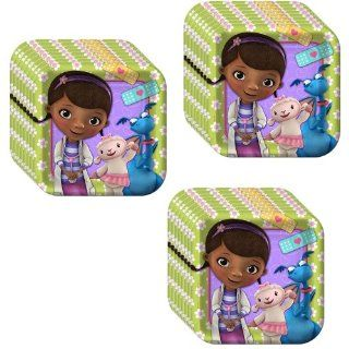 Disney Doc McStuffins Party Dessert Plates   24 Pieces Toys & Games