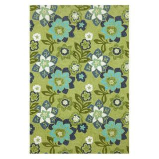 Trans Ocean Import Co Ravella Floral Indoor / Outdoor Rugs   Green   Area Rugs