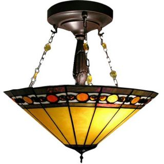Tiffany Style Jewel Hanging pendant   Tiffany Ceiling Lighting