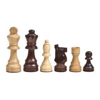 Classic Wooden Ebony & Ivory Chess Pieces   Chess Pieces
